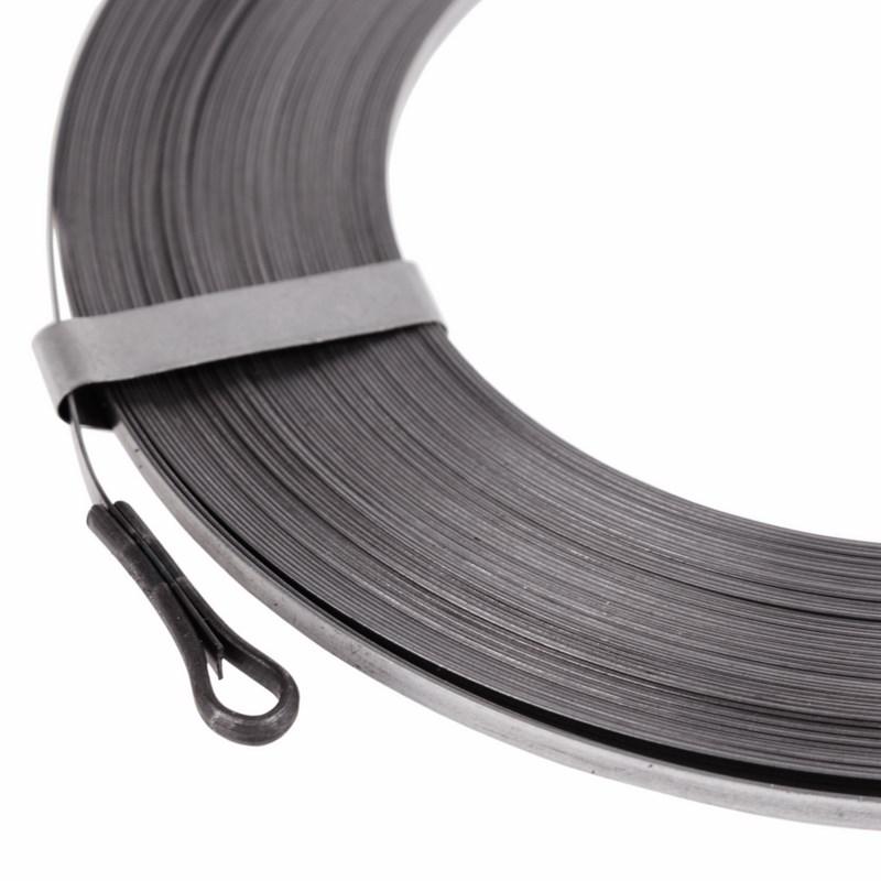 Протяжка кабельная стальная плоская 30 метров PROCONNECT