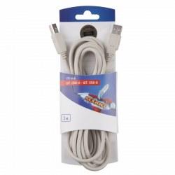 Шнур шт. USB-А - шт. USB-B 3M REXANT