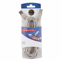 Шнур шт. USB-А - шт. USB-A 3M REXANT