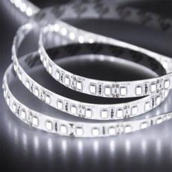LED лента силикон, 10 мм, IP65, SMD 2835, 120 LED/m, 12 V, цвет свечения белый, бухта 100 м