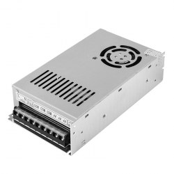 Источник питания 220 V AC/12 V DC 25 A 300 W с разъемами под винт, без влагозащиты (IP23)