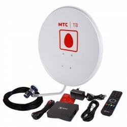 Комплект спутникового ТВ от МТС, ТВ-приставка, 1 год «Базовый ULTRA HD» (модель № 171)