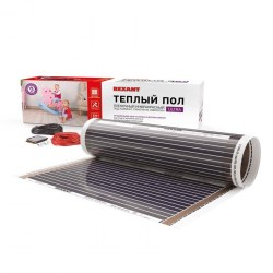 Пленочный теплый пол REXANT Ultra RXM 220 15 м2 / 0,5 х 30 м/ 3300 Вт