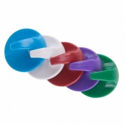 Крючок настенный, круглый-малый, самоклеющийся, 5 шт., PROconnect