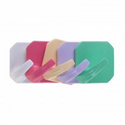 Крючок настенный, ромб, самоклеющийся, 5 шт., PROconnect