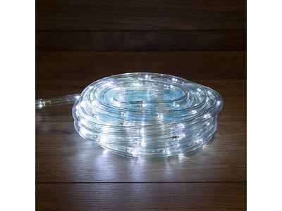 Дюралайт LED, свечение с динамикой (3W), 24 LED/м, белый, 6м