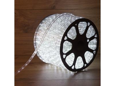 Дюралайт LED, свечение с динамикой (3W) - белый, 36 LED/м, бухта 100м