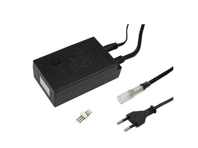 Контроллер для трехжильного светодиодного дюралайта ∅13 мм, до 100 м