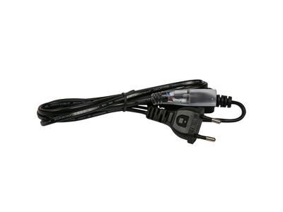 Установочный набор для дюралайта 2W ∅13мм (коннектор с иголкой, выпрямитель, заглушка), до 100м