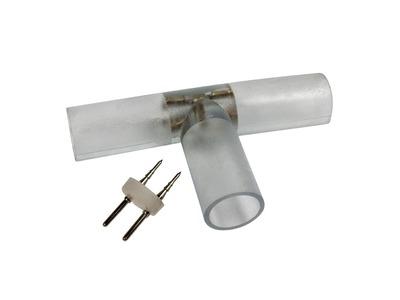 T - коннектор для двухжильного дюралайта ∅13мм