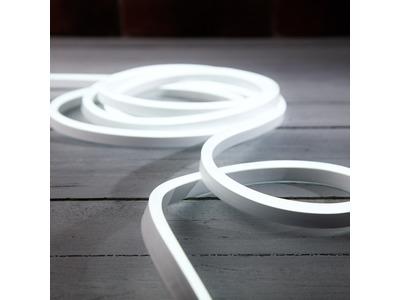 Гибкий неон LED SMD 8х16 мм, двухсторонний, белый, 120 LED/м, 5 м