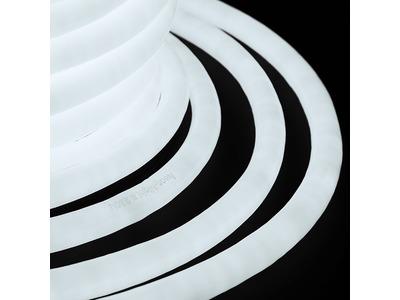 Гибкий Неон LED 360 (круглый) - белый, бухта 50м