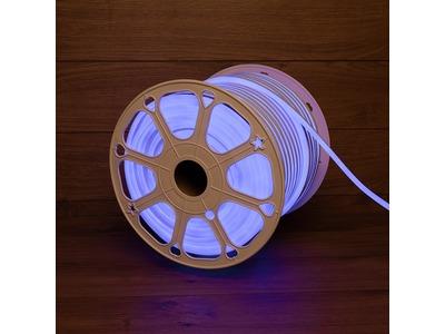 Гибкий неон LED SMD 8х16 мм, синий, 120 LED/м, бухта 100 м