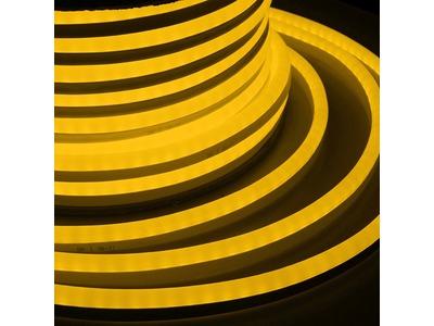 Гибкий Неон LED SMD 15х26 мм, жёлтый, 120 LED/м, бухта 50м