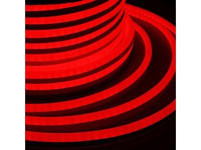 Гибкий Неон LED SMD 15х26 мм, красный, 120 LED/м, бухта 50м