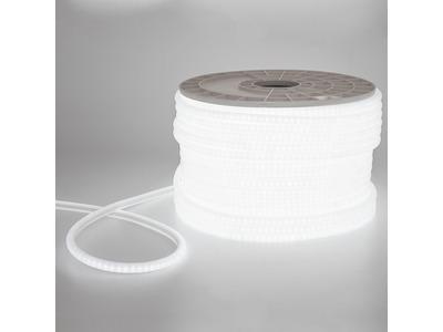 Гибкий Неон LED SMD 12х12 мм, форма - D, белый, 120 LED/м, бухта 100м