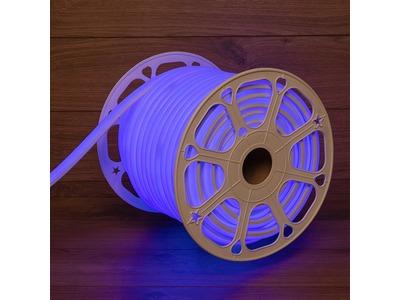 Гибкий неон LED SMD, форма – D, 16х16 мм, синий, 120 LED/м, бухта 50 м