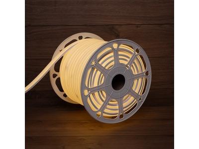 Гибкий неон LED SMD, форма – D, 16х16 мм, теплый белый, 120 LED/м, бухта 50 м