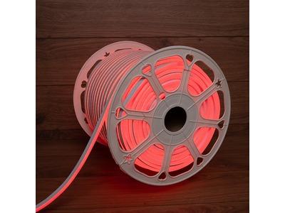 Гибкий неон LED SMD 8х16 мм, двухсторонний, красный, 120 LED/м, бухта 100 м