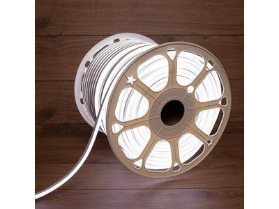 Гибкий неон LED SMD 8х16 мм, двухсторонний, белый, 120 LED/м, бухта 100 м
