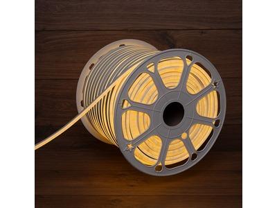 Гибкий неон LED SMD 8х16 мм, двухсторонний, теплый белый, 120 LED/м, бухта 100 м