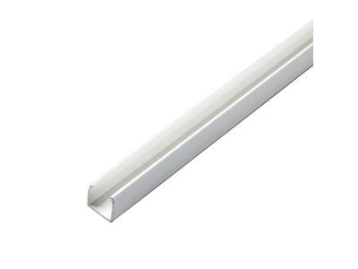 Короб пластиковый для гибкого неона 7х12мм, длина 1 метр