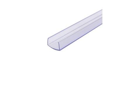 Короб пластиковый для гибкого неона 15х26мм, длина 1 метр