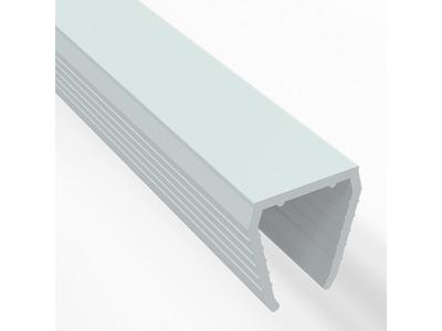 Короб пластиковый для одностороннего гибкого неона 8х16 мм, длина 1 метр