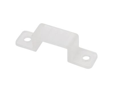 Клипса пластиковая для двухстороннего гибкого неона 8х16 мм