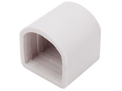 Заглушка для гибкого неона формы D 16х16 мм