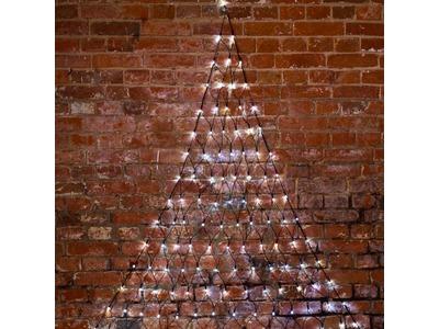 """Гирлянда """"Сеть"""" 2х2х1.5м, свечение с динамикой, черный ПВХ, 136 LED, 230 В, цвет: Белый"""