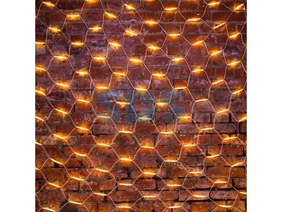 "Гирлянда ""Сеть"" 2x3м, белый КАУЧУК, 432 LED ТЕПЛЫЙ БЕЛЫЙ"