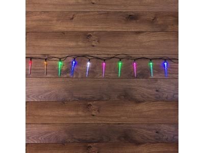 """Гирлянда светодиодная """"Палочки с пузырьками"""" 20 палочек, цвет: мультиколор, 2 метра"""