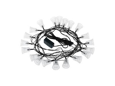 """Гирлянда светодиодная """"Колокольчики"""" 20 LED RGB 2,8 метра"""