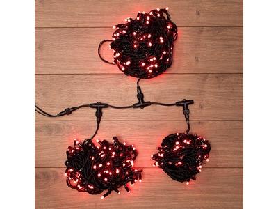 """Гирлянда """"LED ClipLight"""" 24V, 3 нити по 20 м, свечение с динамикой, цвет диодов Красный"""