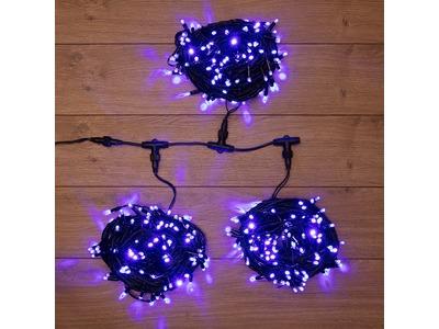 """Гирлянда """"LED ClipLight"""" 24V, 3 нити по 20 м, свечение с динамикой, цвет диодов Синий"""