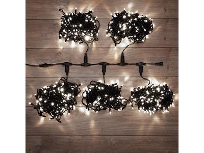 """Гирлянда """"LED ClipLight"""" 24V, 5 нитей по 20 метров, цвет диодов Белый"""