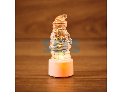 "Фигура светодиодная на подставке ""Санта Клаус"", RGB"