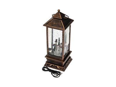 Декоративный светильник «Бутылка» с эффектом снегопада NEON-NIGHT