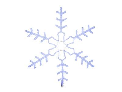 """Фигура световая """"Большая Снежинка"""" цвет синий, размер 95*95 см NEON-NIGHT"""