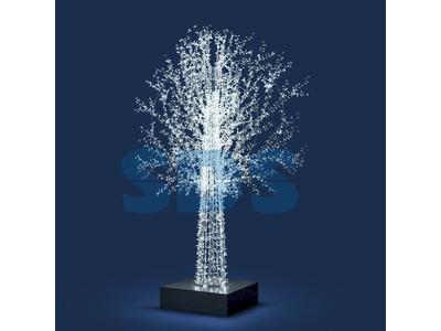 Декоративная 3D фигура Кристалл-3 150 см (цвет на выбор)