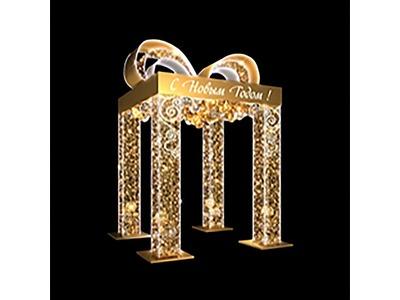 Декоративная декорация 3D Звезда 500 см (цвет на выбор)