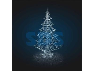 Декоративная 3D фигура Ель Вершина Айсберга 180 см (цвет на выбор)