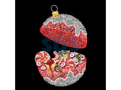Декоративная декорация Шар Сюрприз 310 см (цвет на выбор)