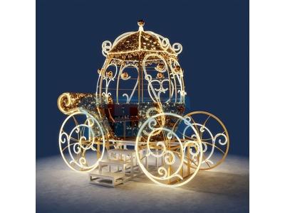 Декоративная 3D фигура Матрешка 200 см (цвет на выбор)