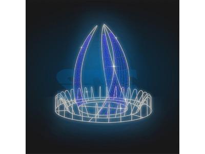 Декоративный фонтан Феерия 195 см