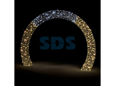 Декоративная арка Подкова 400 см