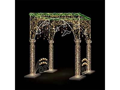 Декоративная декорация Елочный шар 430 см (цвет на выбор)