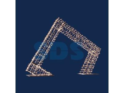 Декортаивная арка Царская 350 см