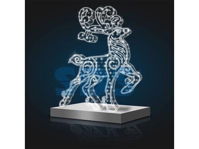 Декоративная 3D фигура Звезда рождественская 250 см